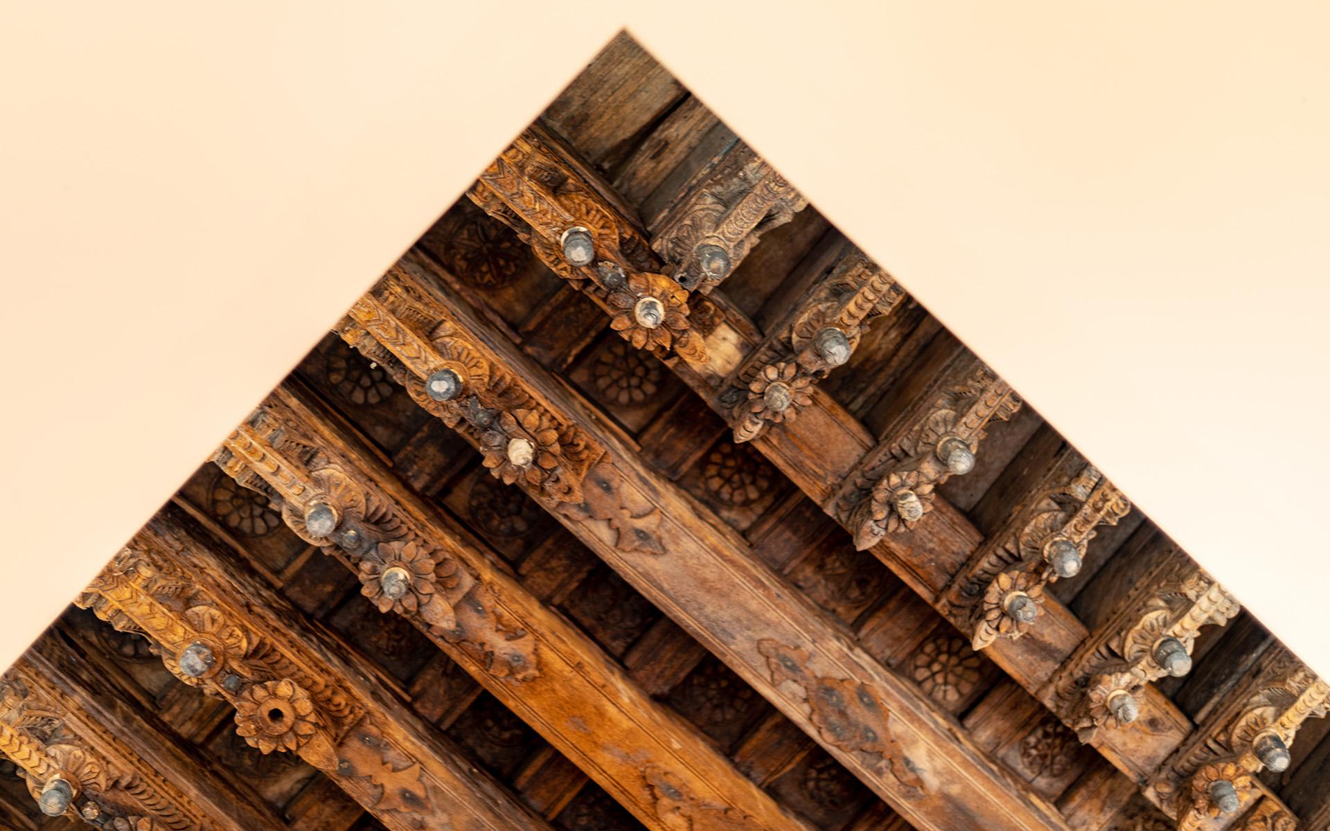 Hacienda Ceiling Detail
