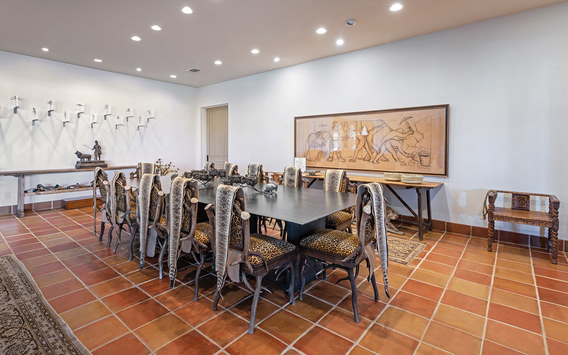 Hacienda Formal Dining Room