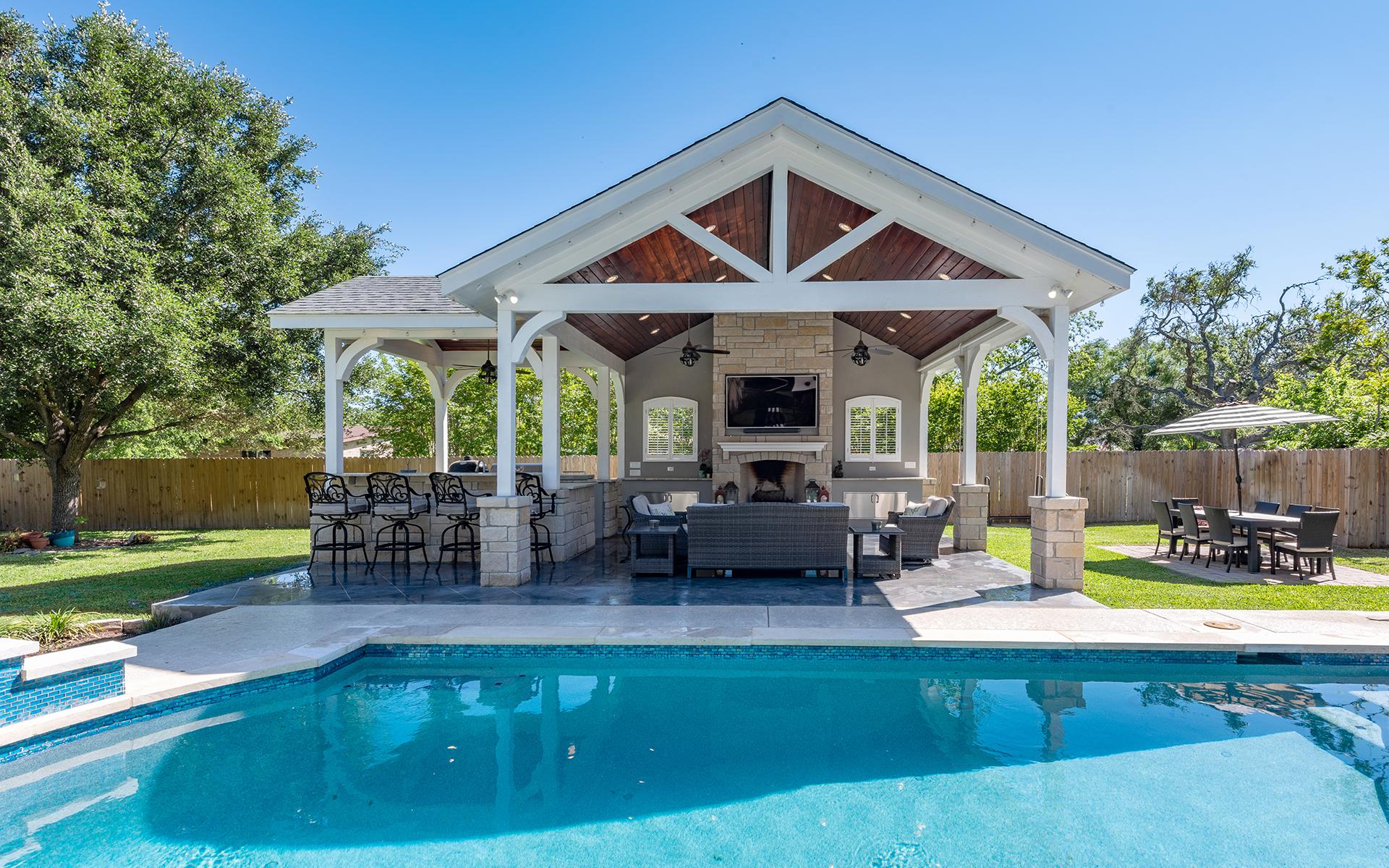 Pool House - Pool View