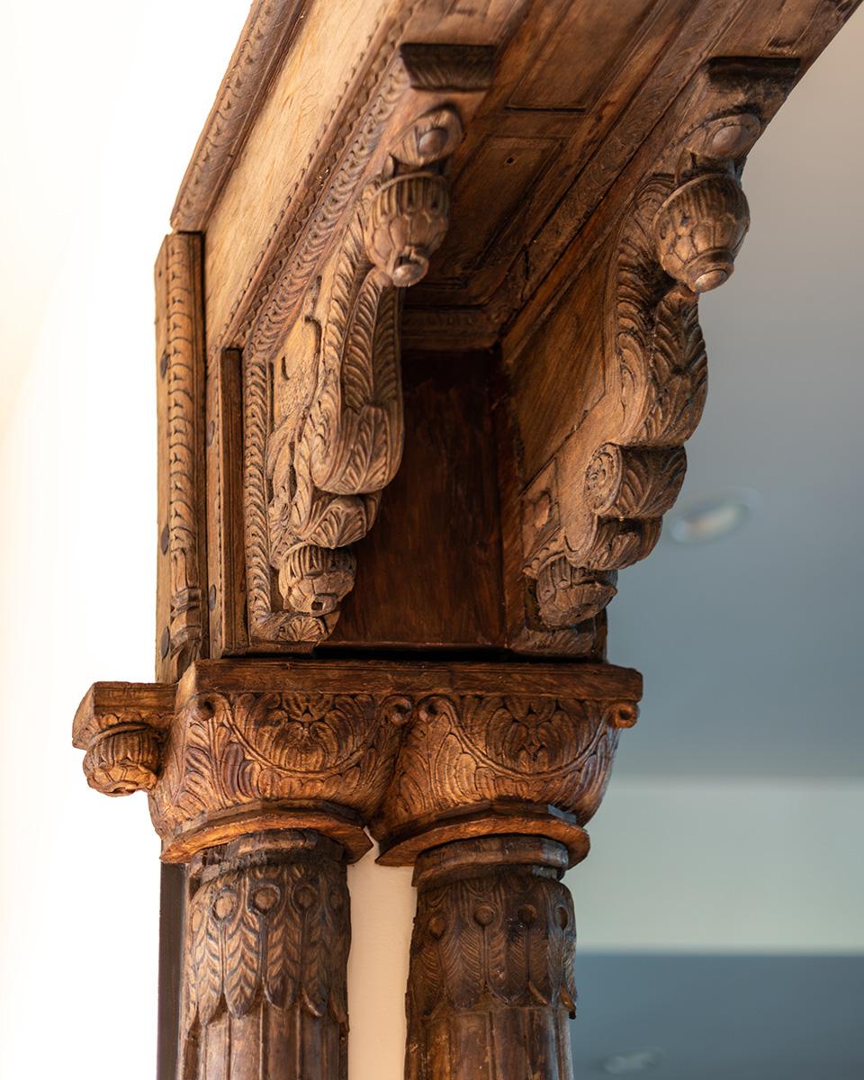 Hacienda Wood Detail