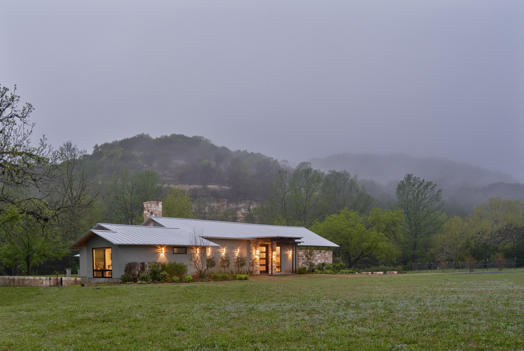 Tarpley Ranch - Front Elevation