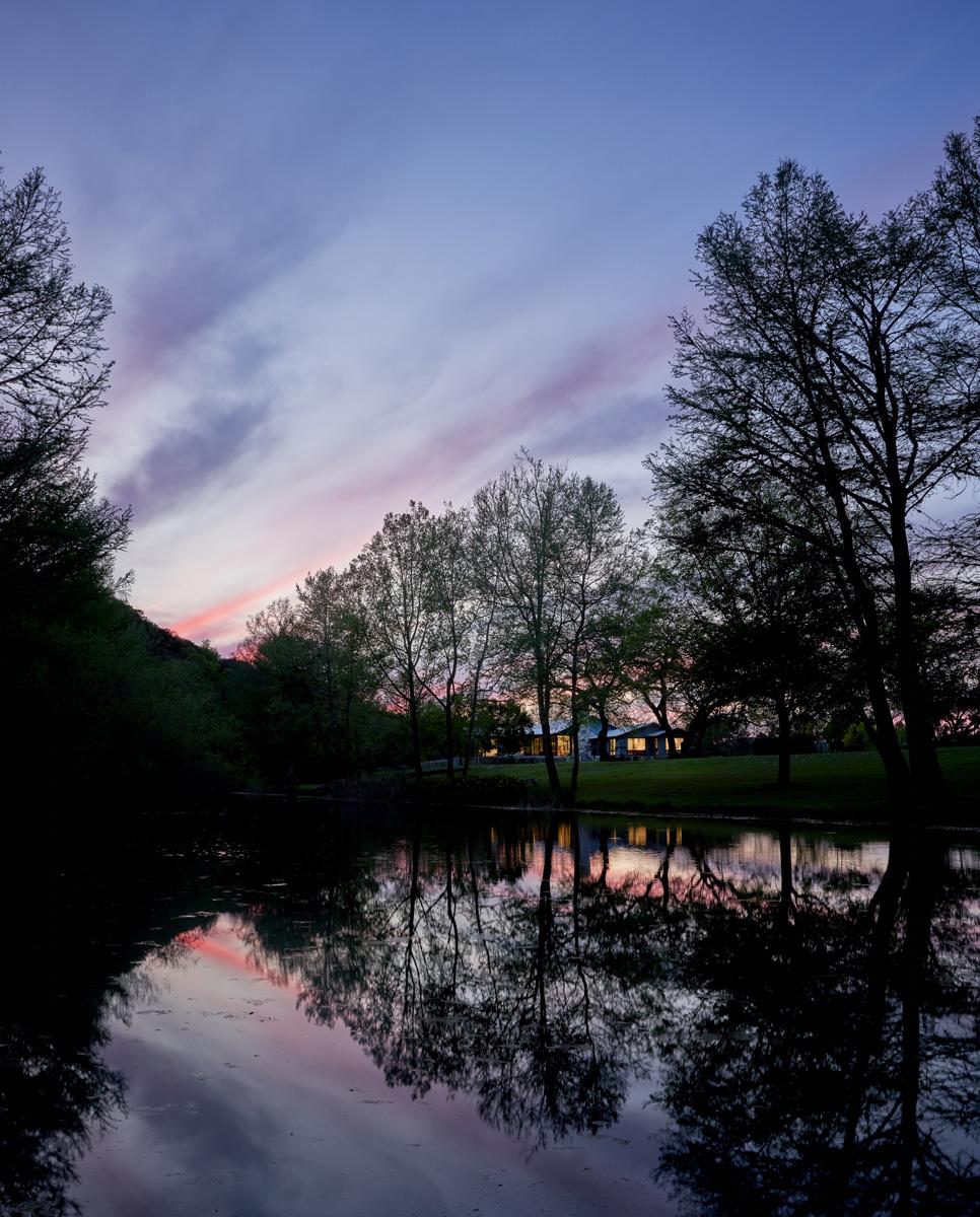 Tarpley Ranch - At Night