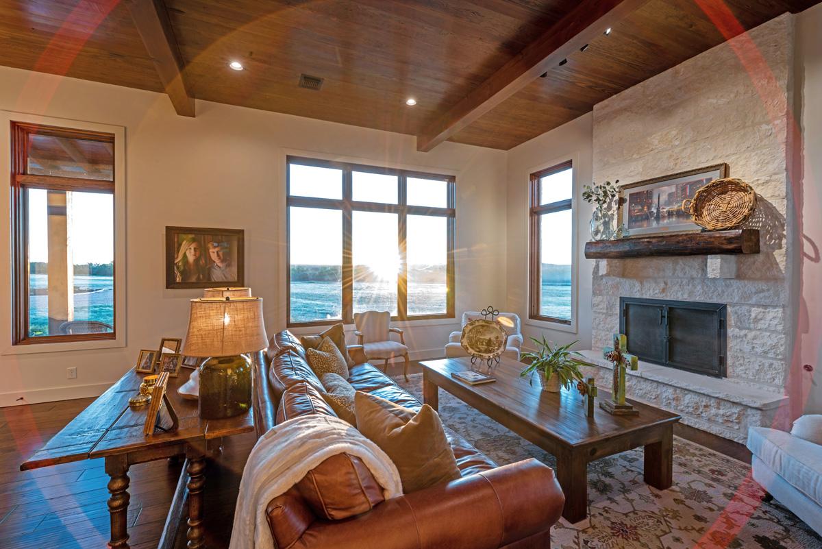 Ranch House - Living Room at Dawn