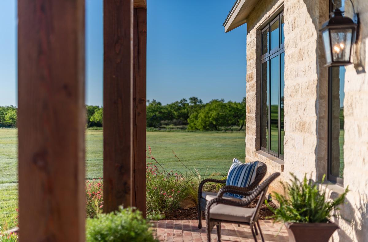 Ranch House - Porch