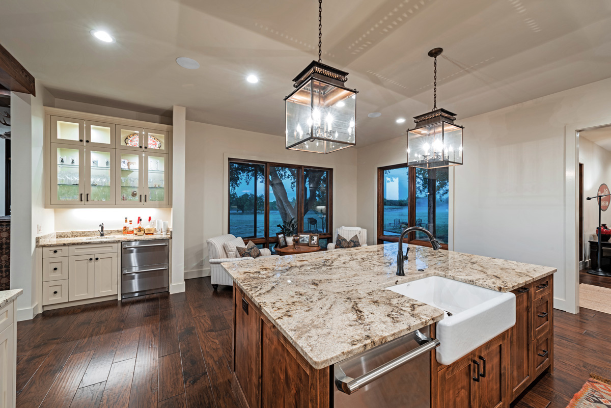 Ranch House - Kitchen Island