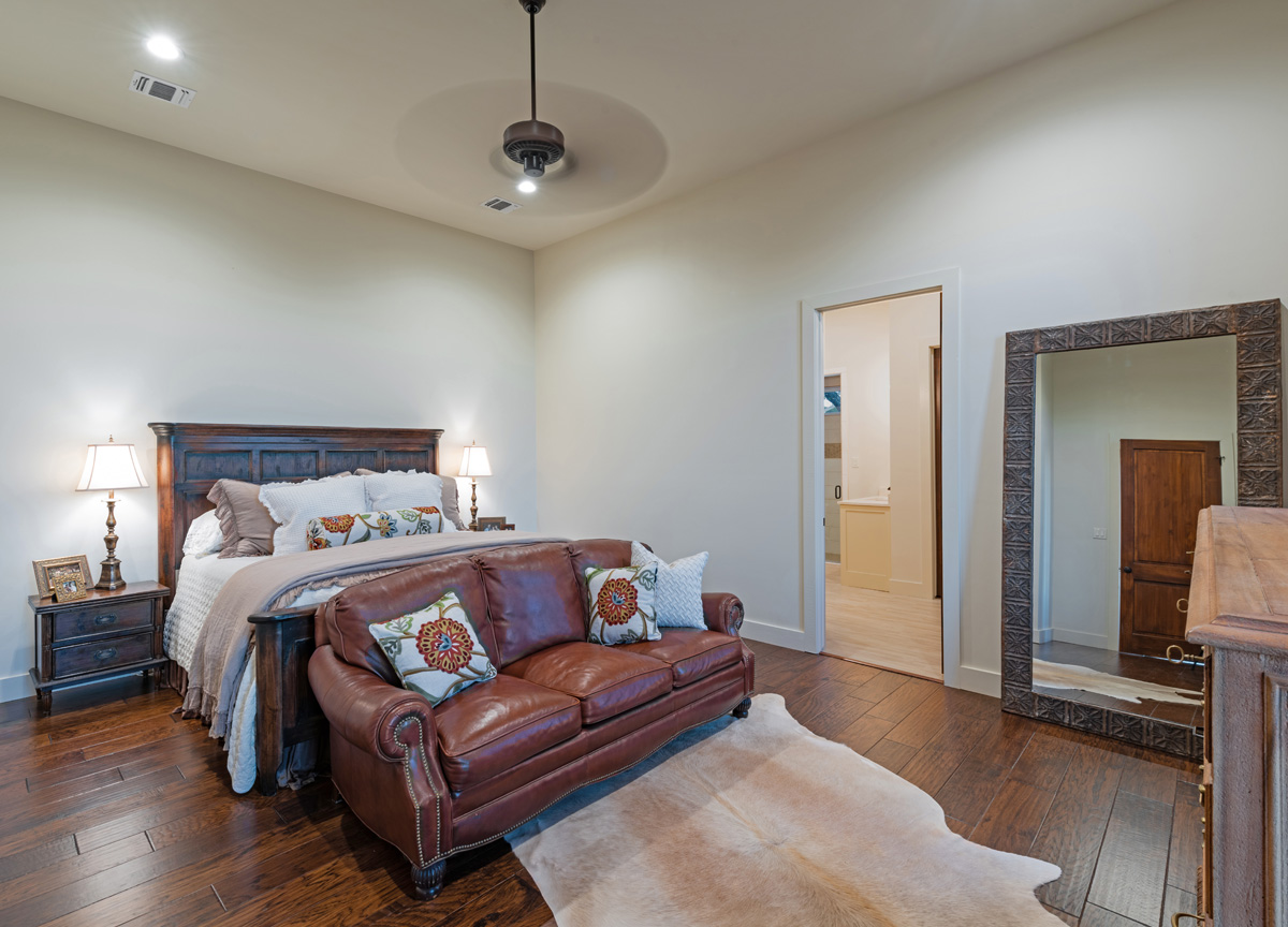 Ranch House - Master Bedroom