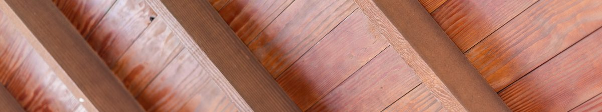 Wood Decking Detail Ranch House Ceiling South Central Texas